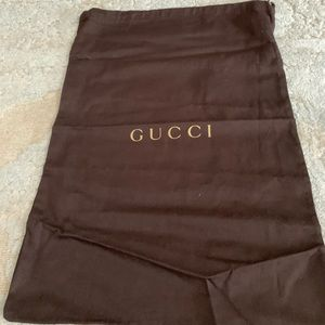 Gucci dust bag